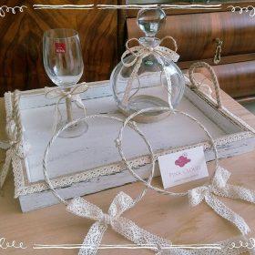 ξύλινος δίσκος γάμου