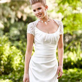 νυφικό πολιτικού γάμου για εύσωμες