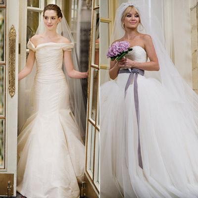 bride wars νυφικά