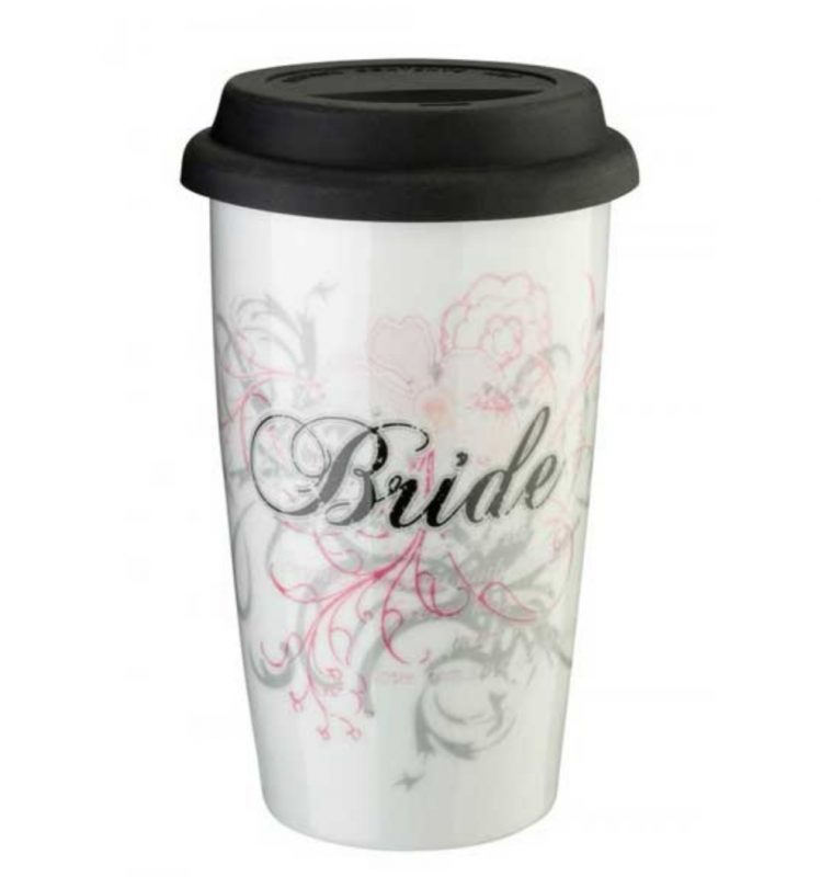 travel mug bride