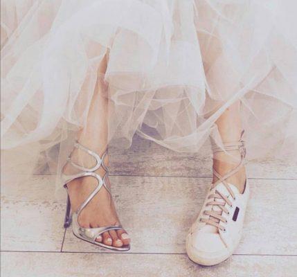 Νύφη παπούτσια